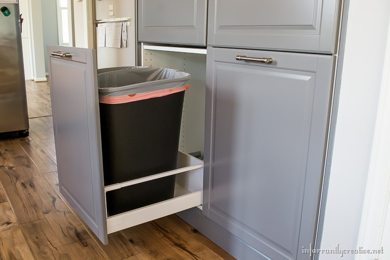 How To Assemble An Ikea Sektion Pantry Infarrantly Creative. SaveEnlarge ·  Kitchen Pull Out Drawers For Kitchen Cabinets ...