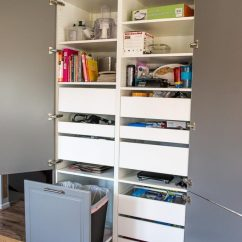 Ikea Kitchen Base Cabinets Tiny House Kitchens How To Assemble An Sektion Pantry - Infarrantly Creative