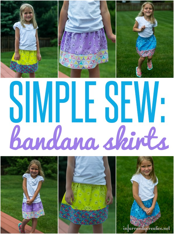 Simple Sewing: Bandana Skirts