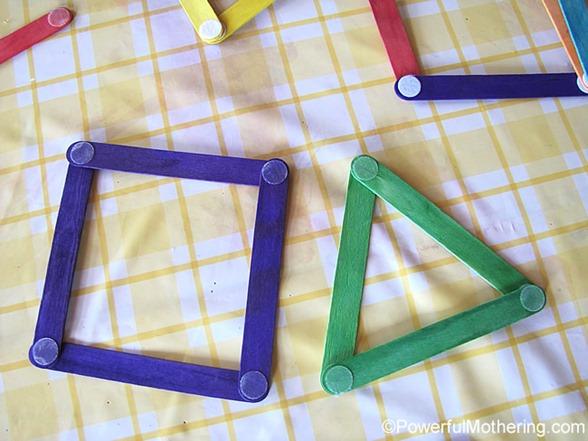 Velcro Dot Popsicle Sticks