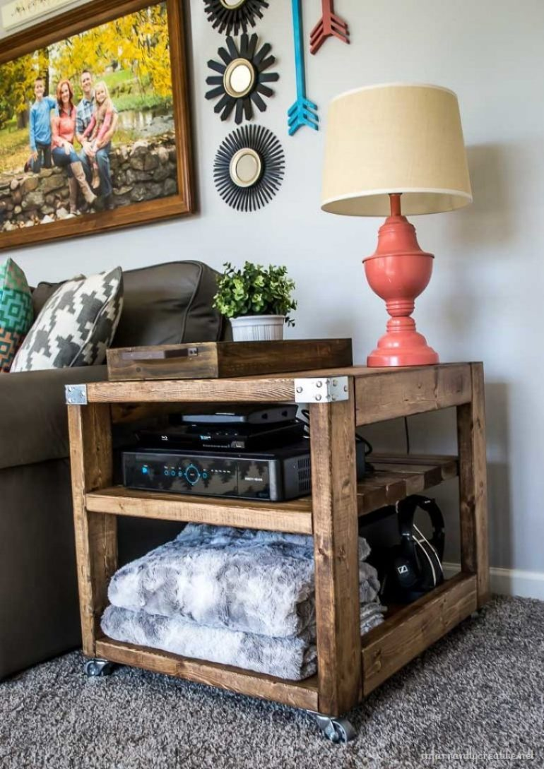 free plans for an end table