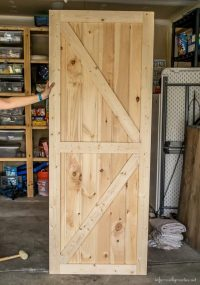 DIY Double Barn Door Plans - Infarrantly Creative