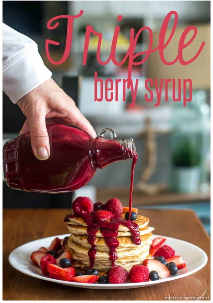 Triple Berry Syrup (Sugar or Sugar-Free!)