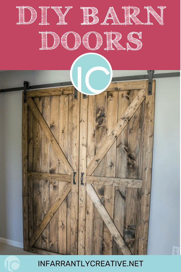 Diy Sliding Double Barn Doors Reclaimed Wood