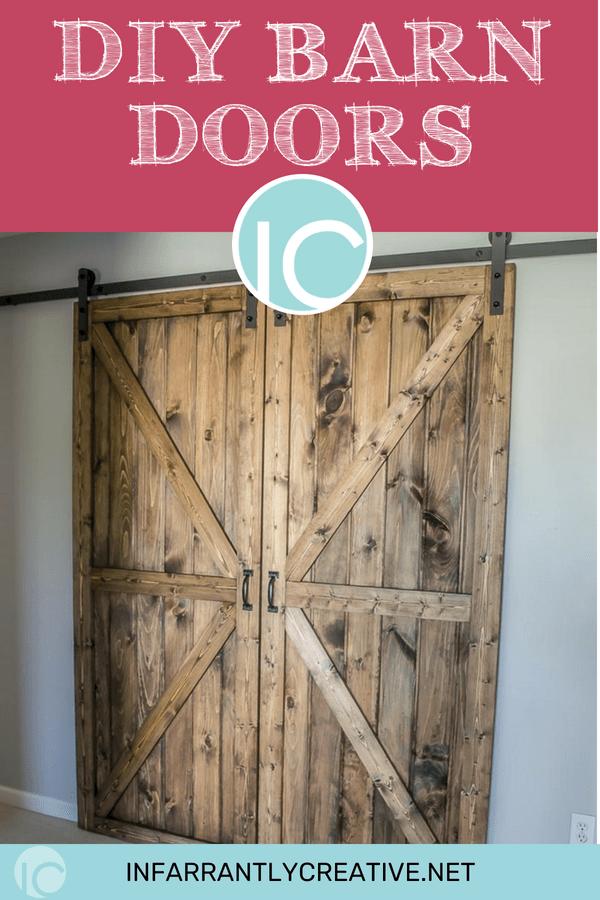 DIY Sliding Double Barn Doors - Reclaimed Wood ...