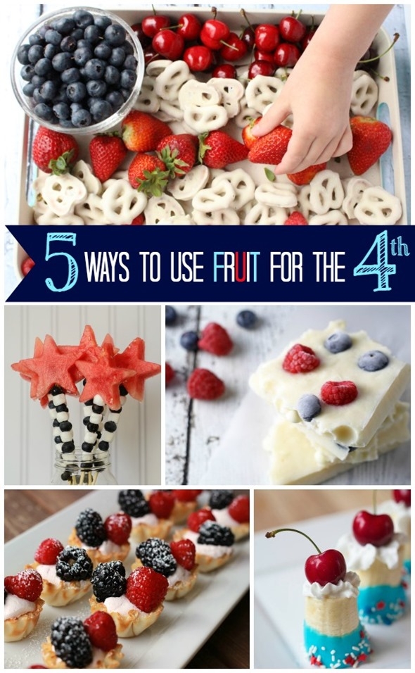 Five Ways to Use Fruit for the Fourth of July