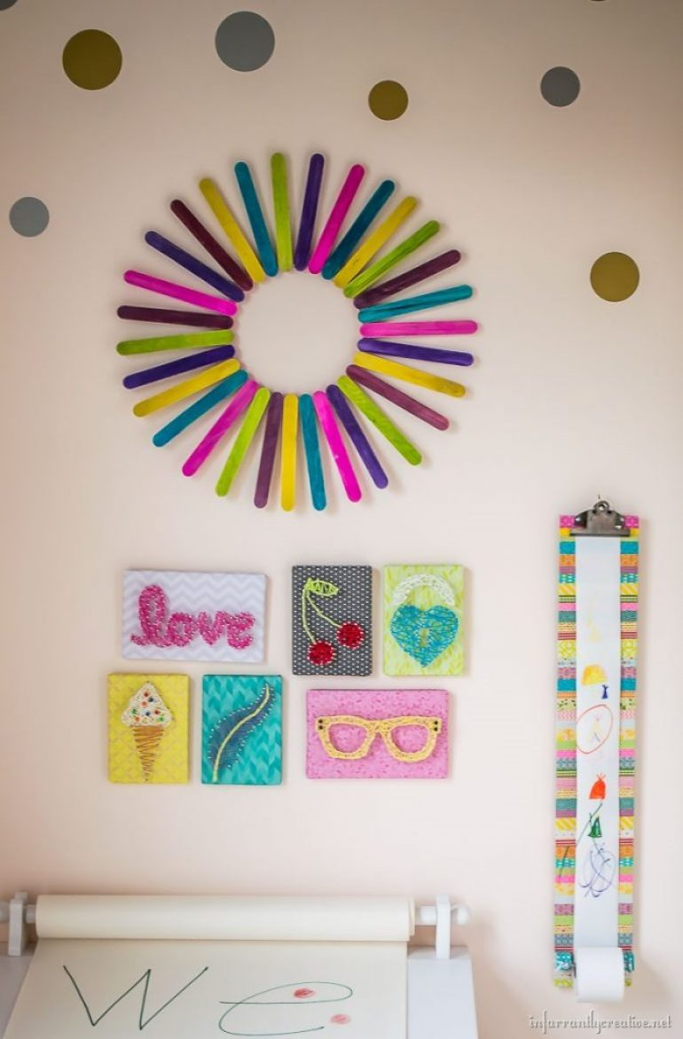 kids-gallery-wall-with-sunburst