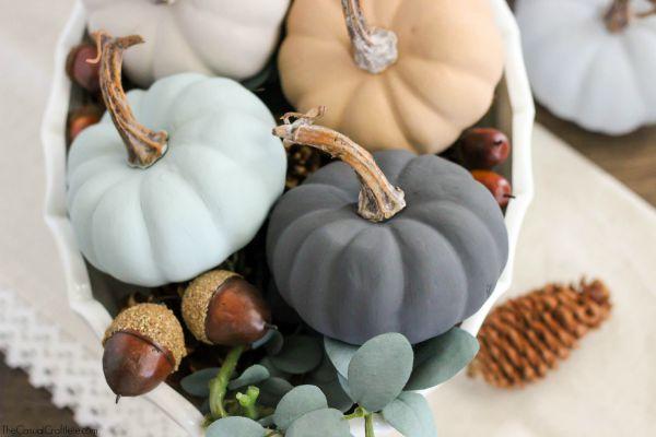 Neutral Chalky Pumpkins