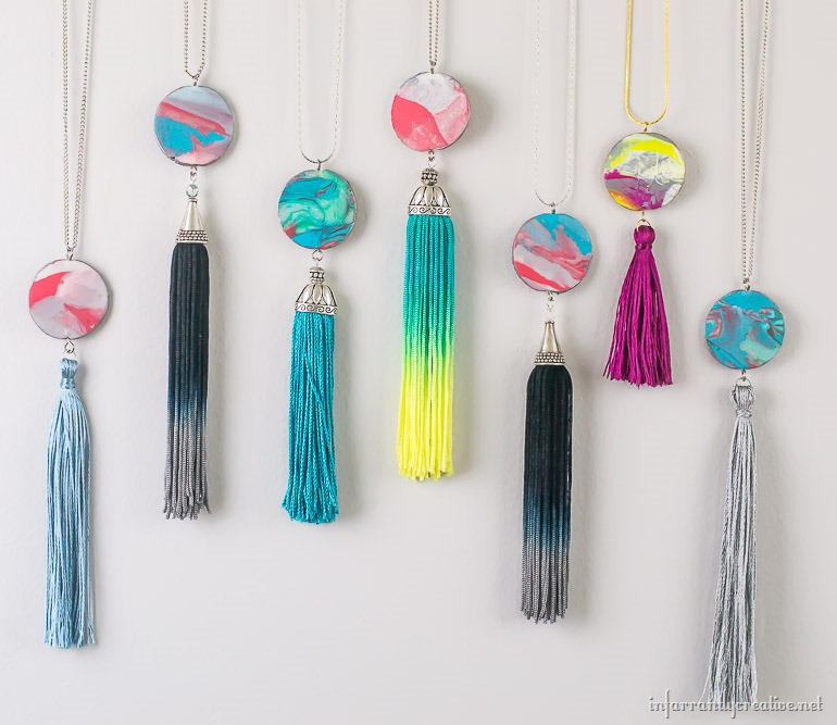 fimo-clay-marble-pendants-with-fringe