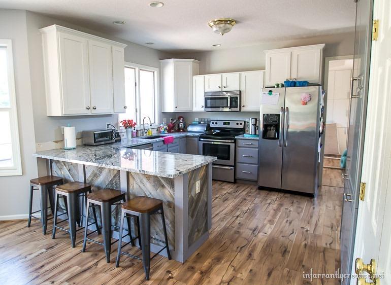 chevron-kitchen-island