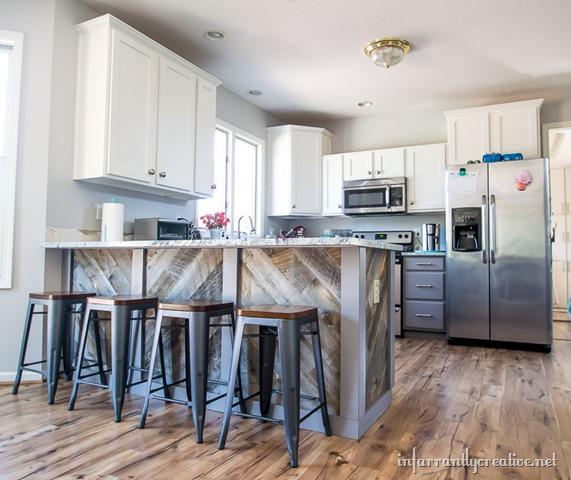 Kitchen Transformations: Stikwood Kitchen Peninsula