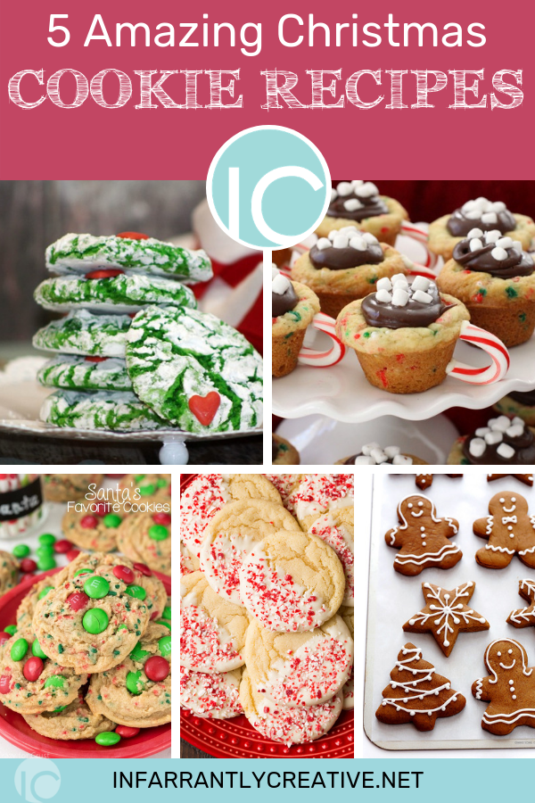 5 Amazing Christmas Cookie Recipes Infarrantly Creative