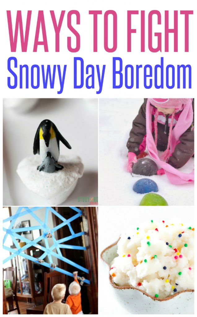 5 Ways to Fight Snow Day Boredom