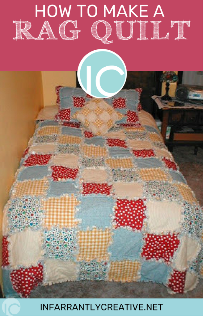 How to make a rag quilt blanket