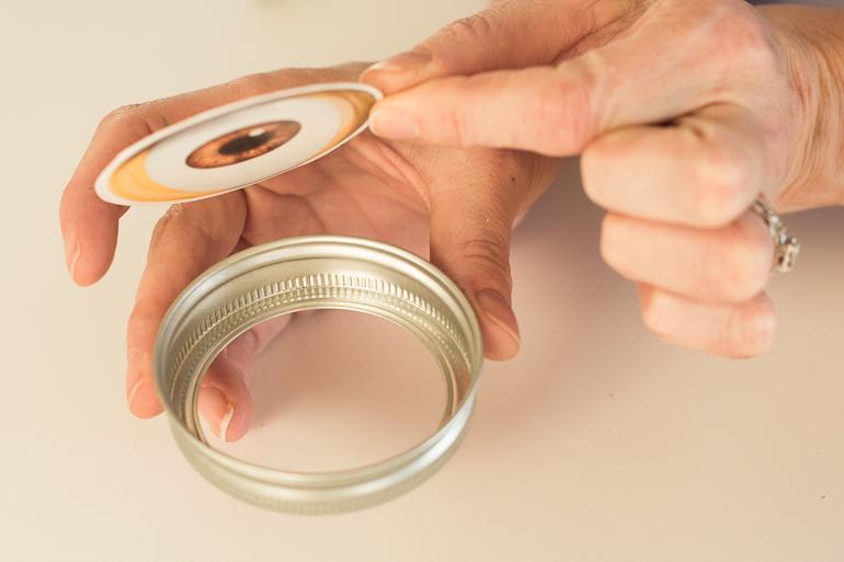 photograph regarding Printable Minion Eye known as Totally free Printable Minion Mason Jars - Infarrantly Innovative