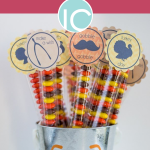 Thanksgiving Candy Bag Favor Printable