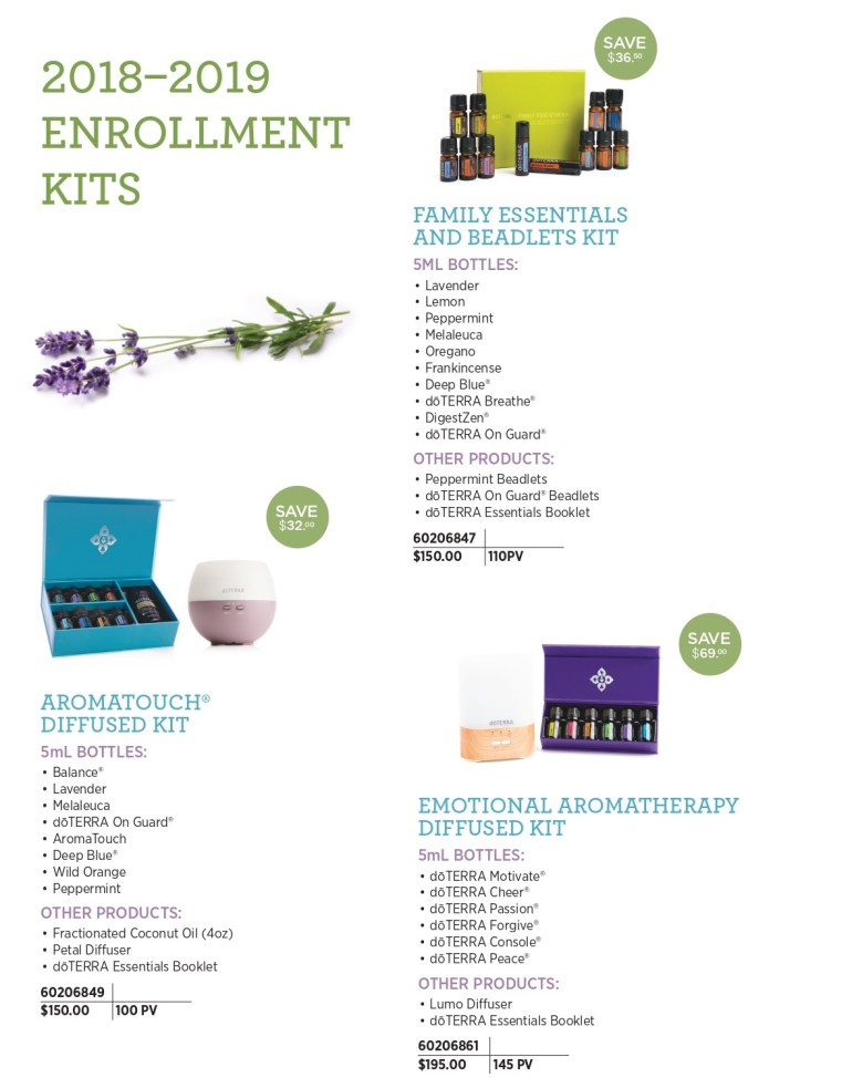 doterra enrollment kids