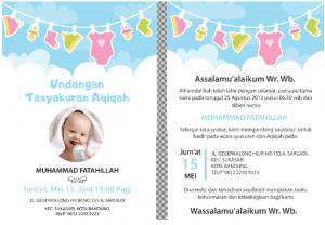 12+ Download Kartu Ucapan Aqiqah Bisa Diedit Format Word ...
