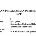 download rpp k13 kelas 6 revisi 2018