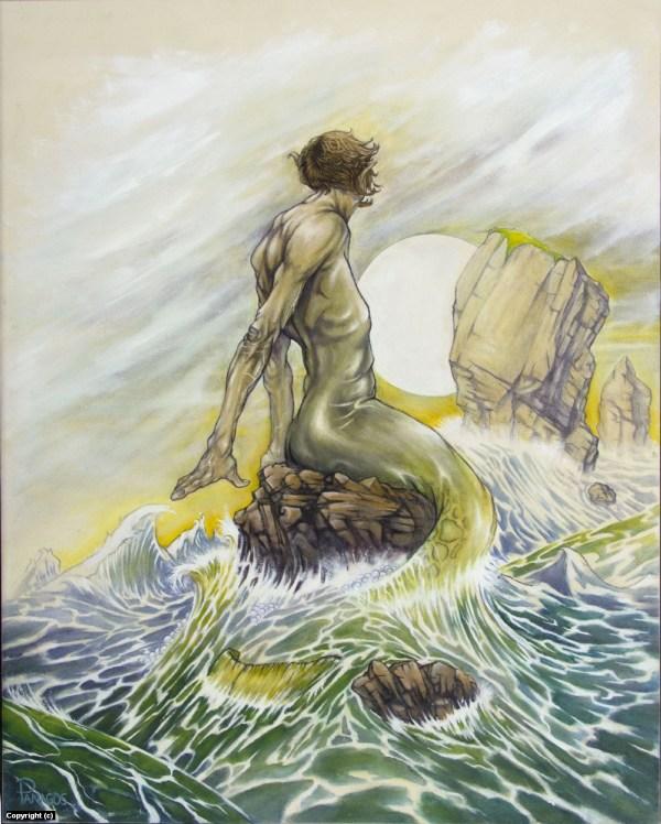 Mermaid Merman Drawing