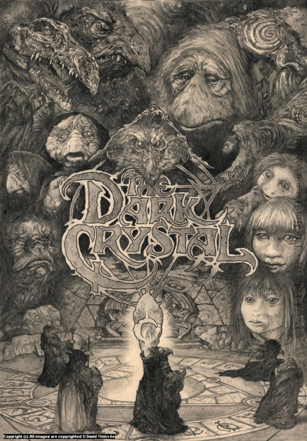 Dark Crystal Movie Art