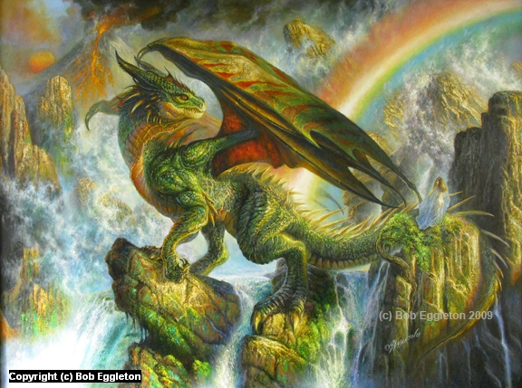 Mythical Creatures In The Fall Wallpaper Infected By Art 187 Art Gallery 187 Bob Eggleton 187 The Rainbow