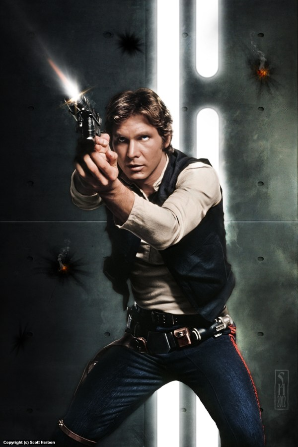 Star Wars Han Solo Art