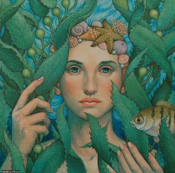 Mermaid Blue Eyes