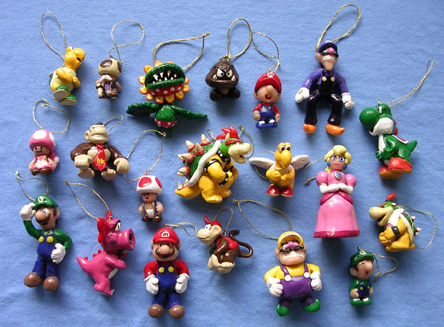 Mario ornaments complete any tree - Infendo: Nintendo News, Review ...