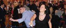Wii Bowling in a Pub