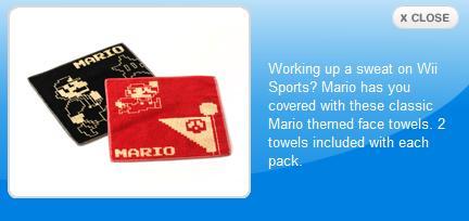 Mario Sweat Rags