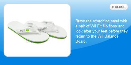 WiiFit Sandals