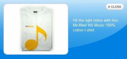 WiiMusic Shirt