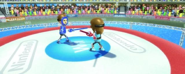 Wii Sports Resort Sword Fighting