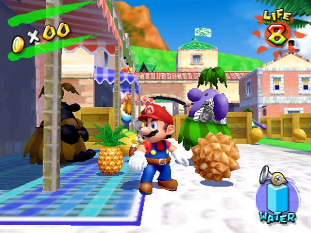 Image result for gamecube super mario sunshine