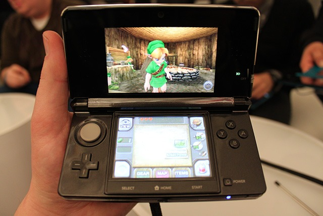 Up close and personal zelda ocarina looks lovely on 3ds infendo nintendo news review blog - Ocarina of time 3ds console ...