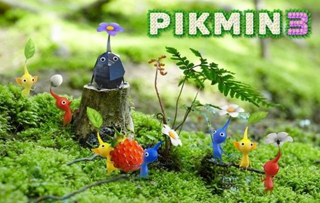 Pikmin 3 art
