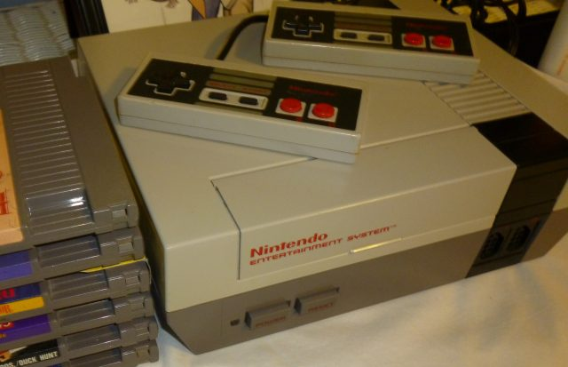 099-NES system and games