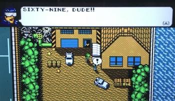 Retro City Rampage DX Sixty-Nine, Dude!!