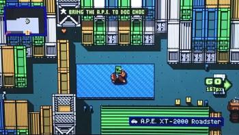 Retro City Rampage DX Stolen Vehicle
