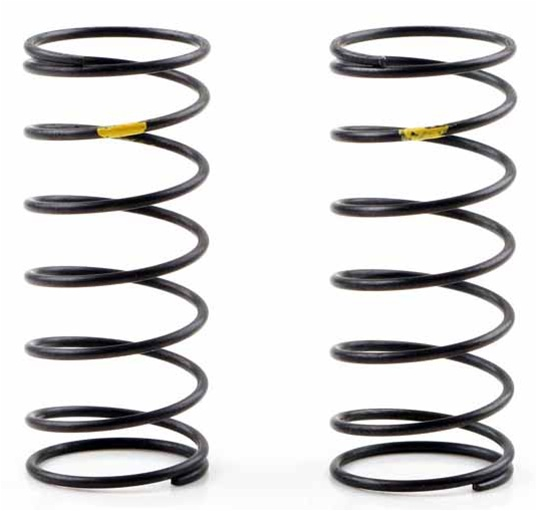 KYOXGS005 Kyosho Front Big Bore Shock Spring Yellow Hard