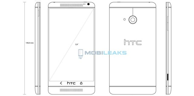 Ostensible blueprints leak reveals htc one max phablet inferse htc malvernweather Gallery
