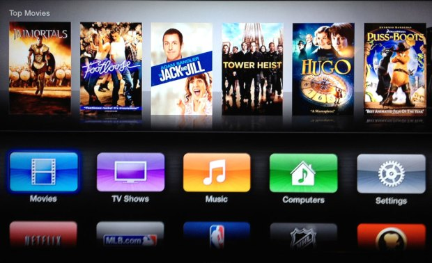 Apple-TV-Interface