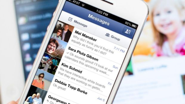 Facebook Messenger iPhone iOS