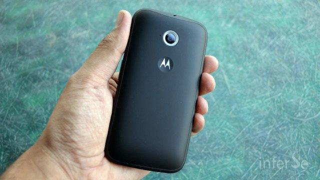 Moto E - Back Panel