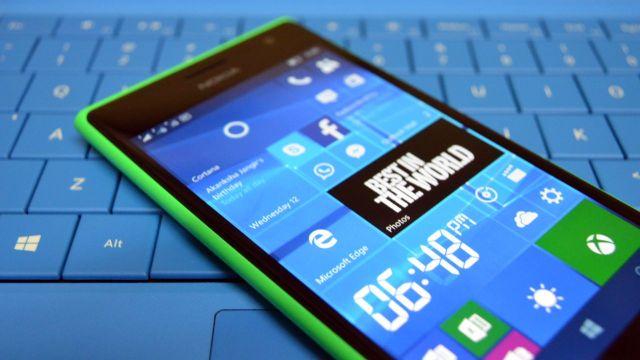 Windows 10 Mobile