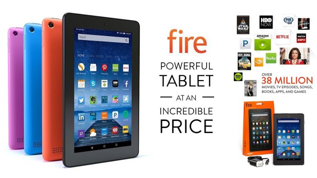Amazon Kindle Fire Colors