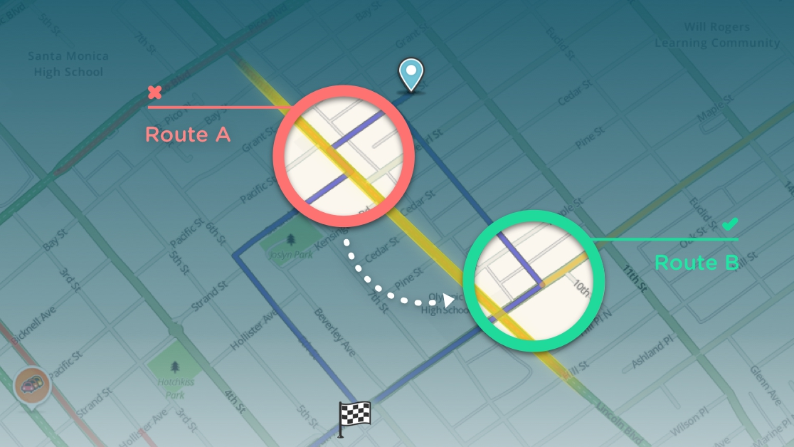 Waze-Reduce-Difficult-Intersections