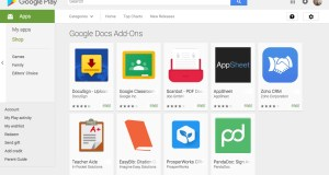 Google-Docs-Sheets-Android-Add-Ons