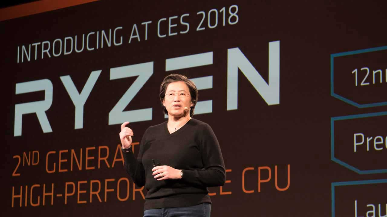 AMD's 2018 roadmap: Desktop APUs in February, second-generation Ryzen in April
